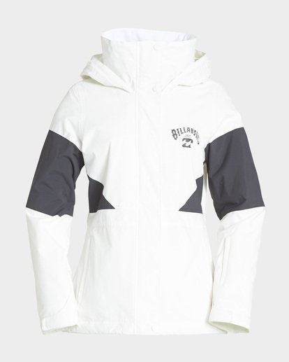 4 Say What 2L 10K Jacket White Q6JF03S Billabong