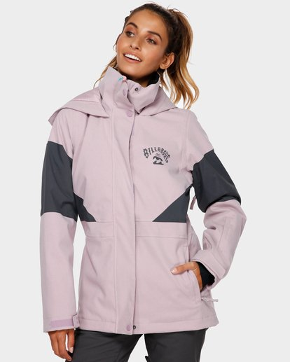 0 SAY WHAT 2L 10K JACKET Purple Q6JF03S Billabong
