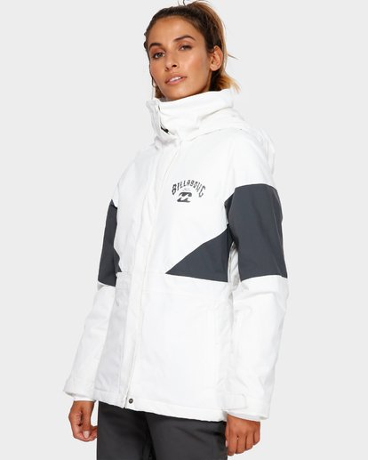 2 Say What 2L 10K Jacket White Q6JF03S Billabong