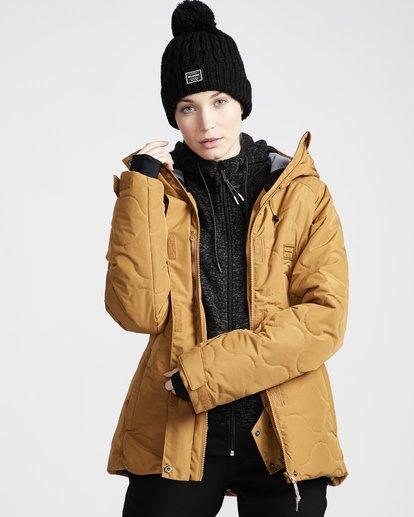 3 Bliss - Chaqueta para Nieve para Mujer Amarillo Q6JF05BIF9 Billabong