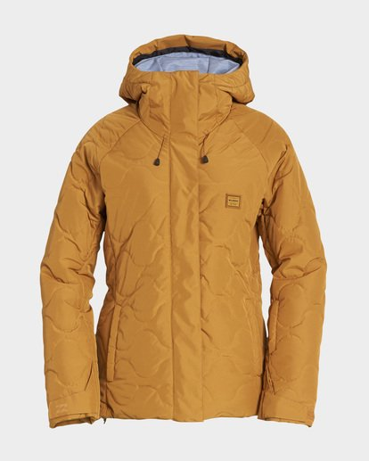 4 Bliss 2L 10K Jacket Yellow Q6JF05S Billabong