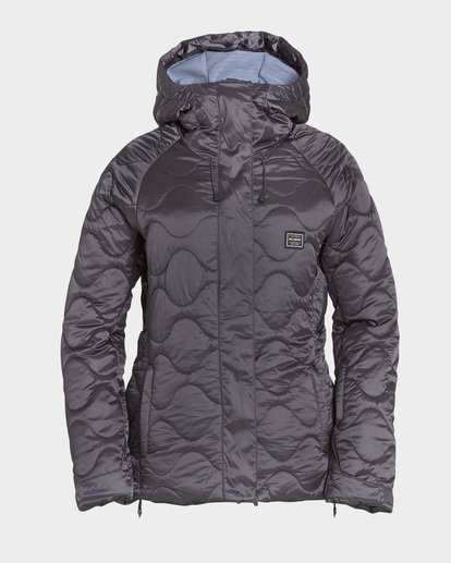 4 Bliss 2L 10K Jacket Grey Q6JF05S Billabong