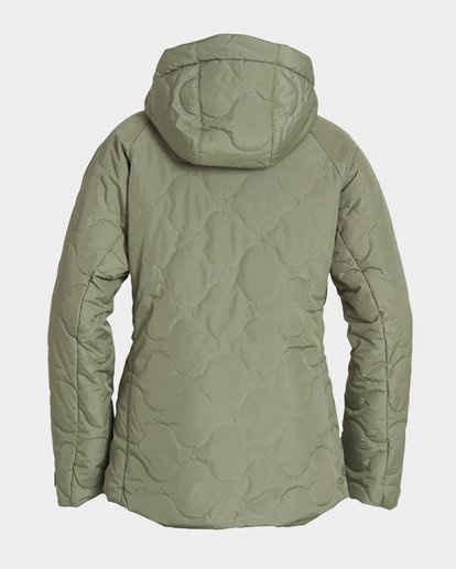 5 Bliss 2L 10K Jacket Green Q6JF05S Billabong