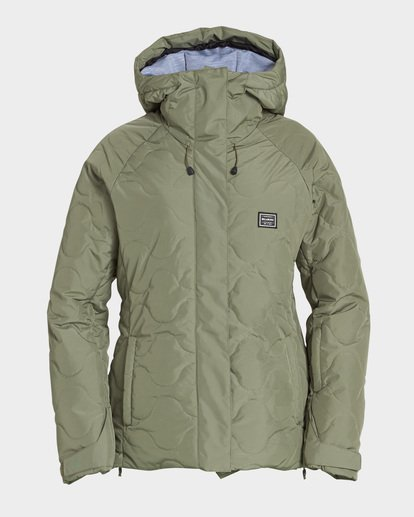 4 Bliss 2L 10K Jacket Green Q6JF05S Billabong
