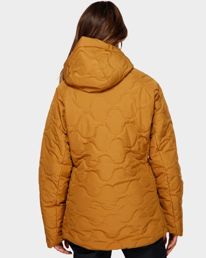 3 Bliss 2L 10K Jacket Yellow Q6JF05S Billabong