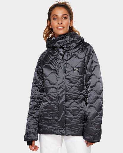 1 Bliss 2L 10K Jacket Grey Q6JF05S Billabong