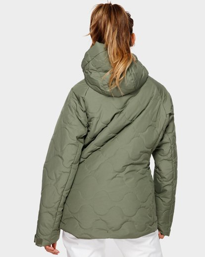 3 Bliss 2L 10K Jacket Green Q6JF05S Billabong