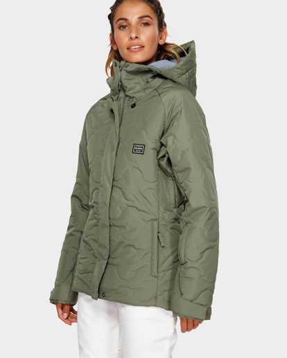 1 Bliss 2L 10K Jacket Green Q6JF05S Billabong