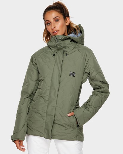 0 Bliss 2L 10K Jacket Green Q6JF05S Billabong
