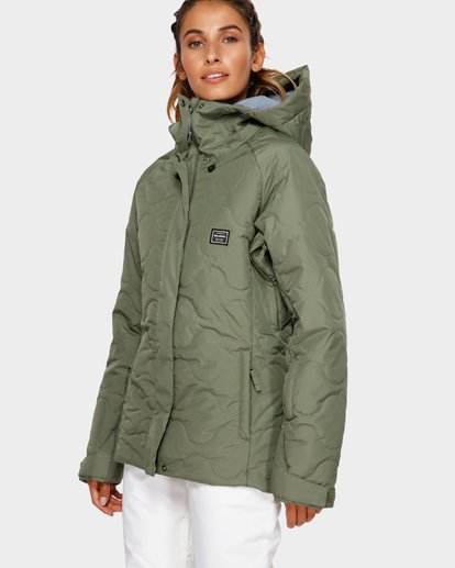 2 Bliss 2L 10K Jacket Green Q6JF05S Billabong