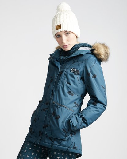1 Into The Forest - Ski- und Snowboardjacke für Frauen  Q6JF08BIF9 Billabong