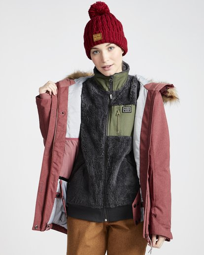 3 Into The Forest - Ski- und Snowboardjacke für Frauen Violett Q6JF08BIF9 Billabong
