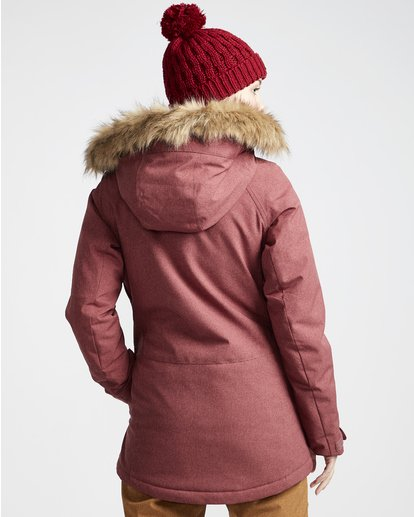 2 Into The Forest - Ski- und Snowboardjacke für Frauen Violett Q6JF08BIF9 Billabong