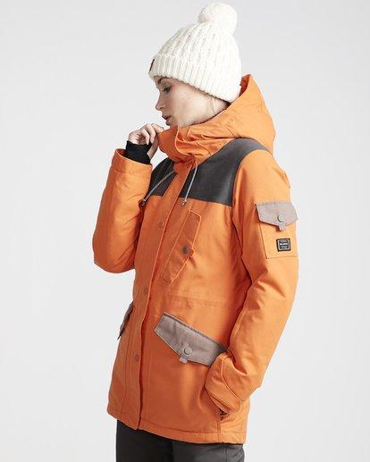 1 Scenic Route - Chaqueta para Nieve para Mujer Naranja Q6JF10BIF9 Billabong