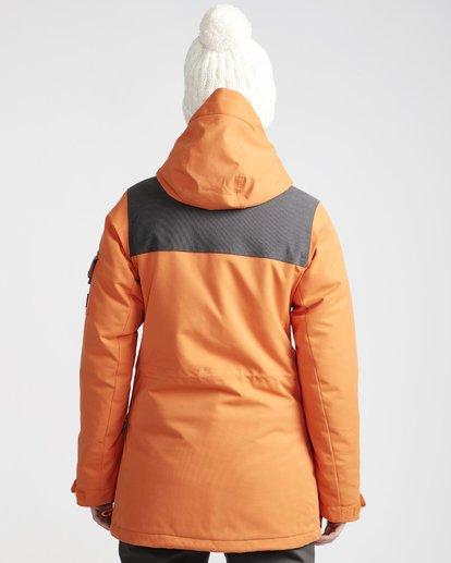 2 Scenic Route - Chaqueta para Nieve para Mujer Naranja Q6JF10BIF9 Billabong