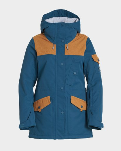 4 Scenic Route 2L 10K Jacket Blue Q6JF10S Billabong