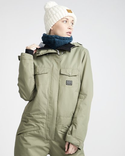 0 Break Of Dawn - Chaqueta para Nieve para Mujer Verde Q6JF11BIF9 Billabong