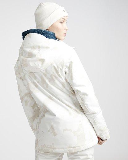 2 Eclipse - Ski- und Snowboardjacke für Frauen Weiss Q6JF13BIF9 Billabong