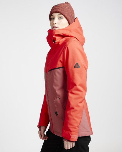 1 Eclipse - Snow Jacket for Women Red Q6JF13BIF9 Billabong