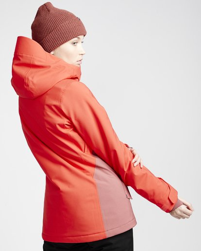 2 Eclipse - Chaqueta para Nieve para Mujer Rojo Q6JF13BIF9 Billabong
