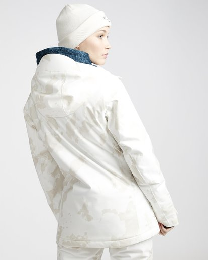 3 Eclipse 2L 15K Jackect White Q6JF13X Billabong