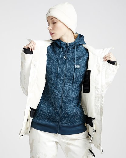 4 Eclipse 2L 15K Jackect White Q6JF13X Billabong