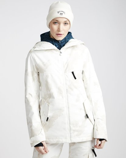 1 Eclipse 2L 15K Jackect White Q6JF13X Billabong