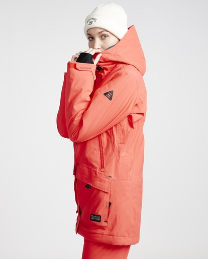 1 Trooper - Snow Jacket for Women Red Q6JF15BIF9 Billabong