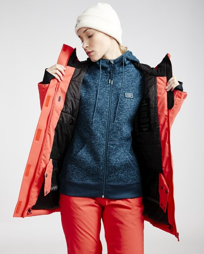3 Trooper - Snow Jacket for Women Red Q6JF15BIF9 Billabong