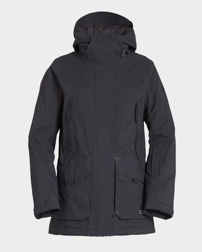 4 Trooper Stx 2L 45K Jacket Black Q6JF15S Billabong