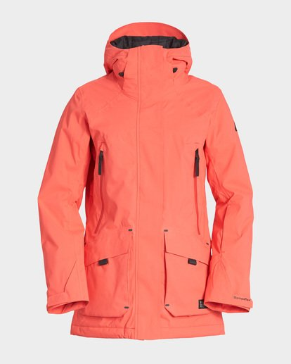 4 Trooper Stx 2L 45K Jacket Red Q6JF15S Billabong