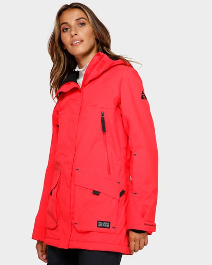 2 Trooper Stx 2L 45K Jacket Red Q6JF15S Billabong