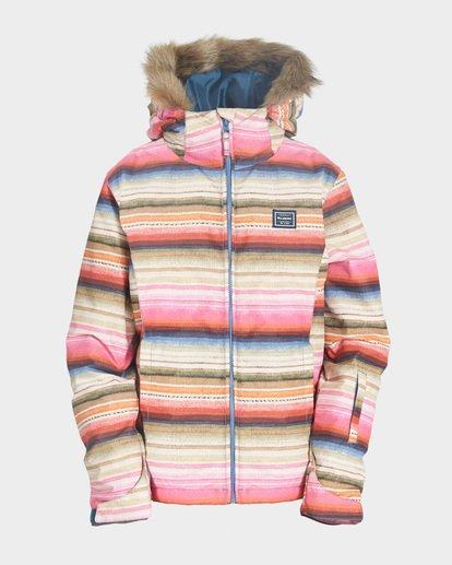3 Teen Sula 2L 10K Jacket Grey Q6JG01S Billabong