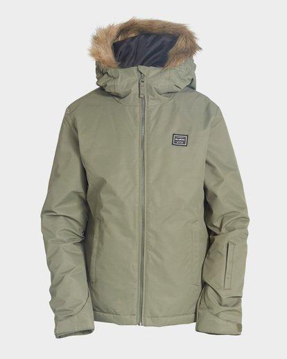 3 Teen Sula 2L 10K Jacket Green Q6JG01S Billabong