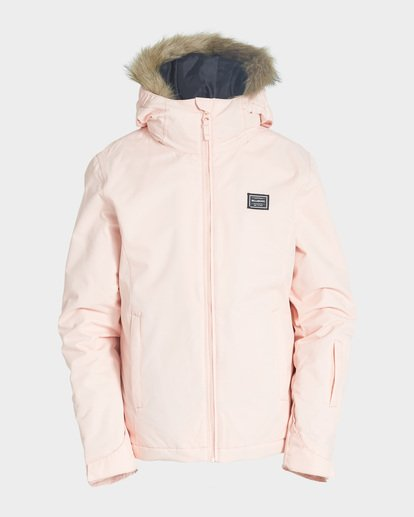 3 Teen Sula 2L 10K Jacket Orange Q6JG01S Billabong