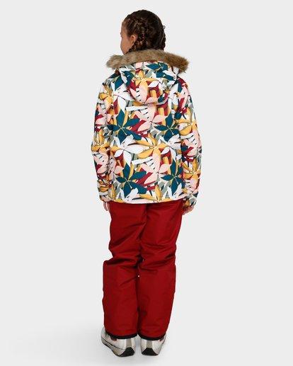 2 Teen Sula 2L 10K Jacket Grey Q6JG01S Billabong