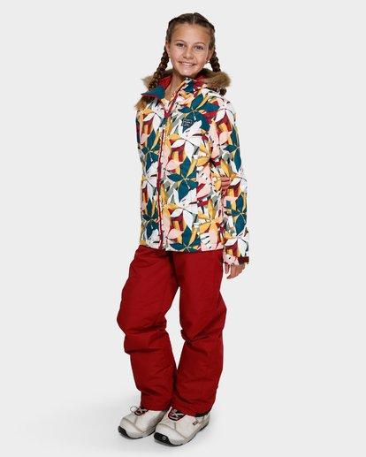 1 Teen Sula 2L 10K Jacket Grey Q6JG01S Billabong