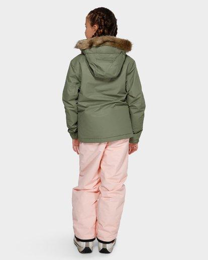 2 Teen Sula 2L 10K Jacket Green Q6JG01S Billabong