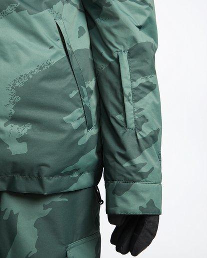6 Fastplant - Snow Jacket for Men Camo Q6JM02BIF9 Billabong