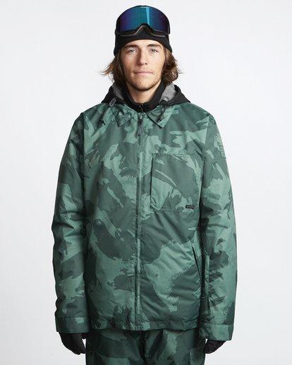 1 Fastplant - Snow Jacket for Men Camo Q6JM02BIF9 Billabong