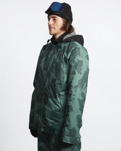 3 Fastplant - Snow Jacket for Men Camo Q6JM02BIF9 Billabong