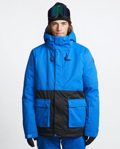 1 Fifty 50 - Snow Jacket for Men Blue Q6JM04BIF9 Billabong