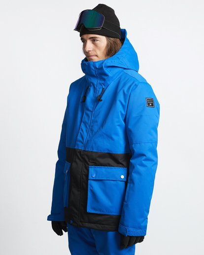 3 Fifty 50 - Snow Jacket for Men Blue Q6JM04BIF9 Billabong