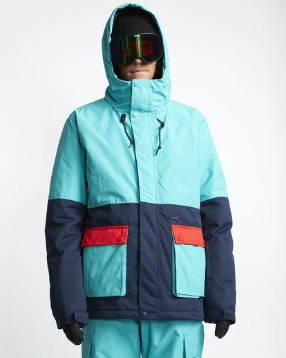 0 Fifty 50 - Chaqueta para Nieve para Hombre Azul Q6JM04BIF9 Billabong