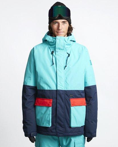 1 Fifty 50 - Chaqueta para Nieve para Hombre Azul Q6JM04BIF9 Billabong