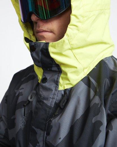 6 Fifty 50 - Snow Jacket for Men Yellow Q6JM04BIF9 Billabong