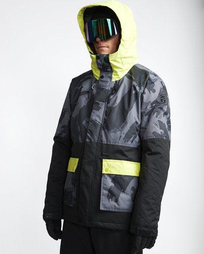 0 Fifty 50 - Snow Jacket for Men Yellow Q6JM04BIF9 Billabong