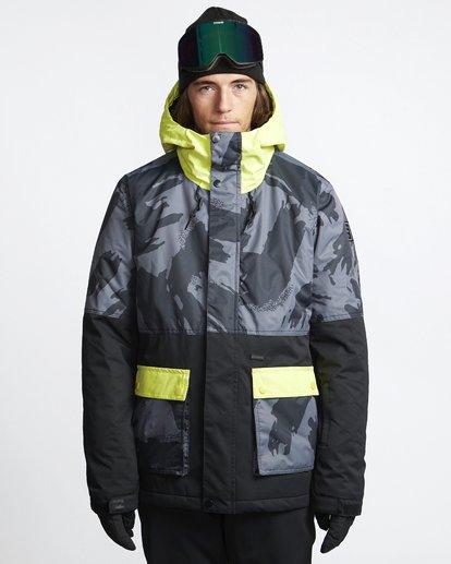 1 Fifty 50 - Snow Jacket for Men Yellow Q6JM04BIF9 Billabong