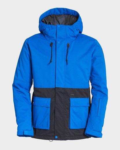 5 Fifty 50 2L 10K Jacket Blue Q6JM04S Billabong