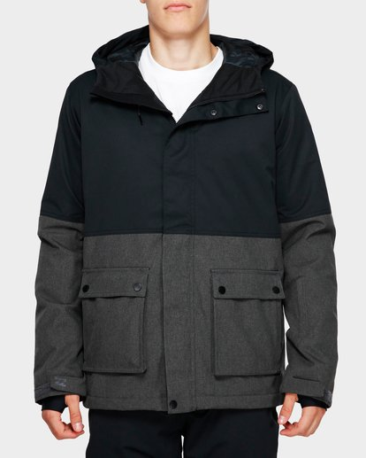 1 Fifty 50 2L 10K Jacket Grey Q6JM04S Billabong